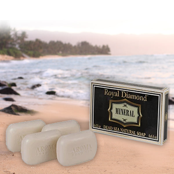 Royal Diamond Mineral Soap Kit - 4 - Aroma Dead Sea