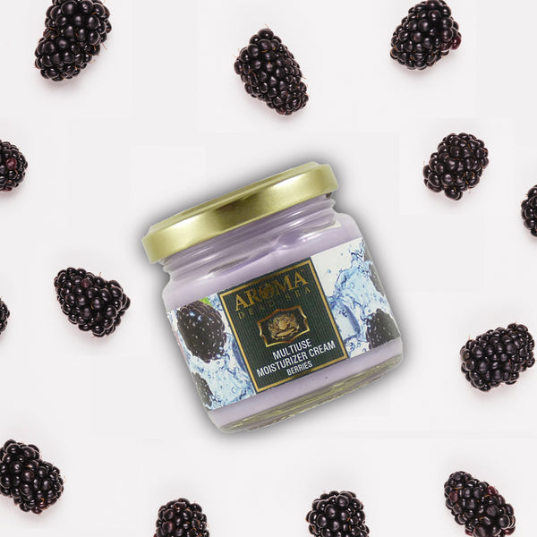 Multi-Use Moisturizer and Body Cream Berries 100 ml - Aroma Dead Sea