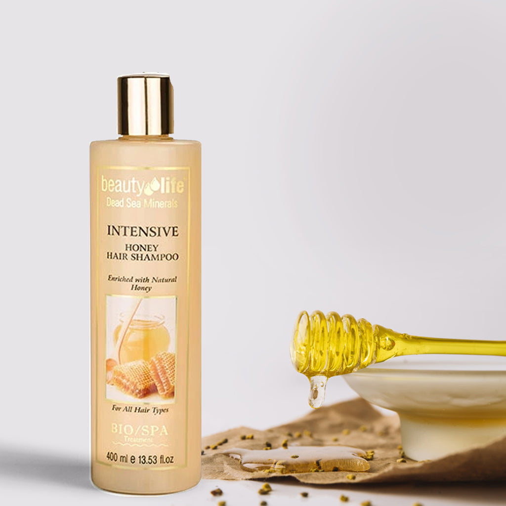 Intensive Shampoo With Natural Honey - Aroma Dead Sea