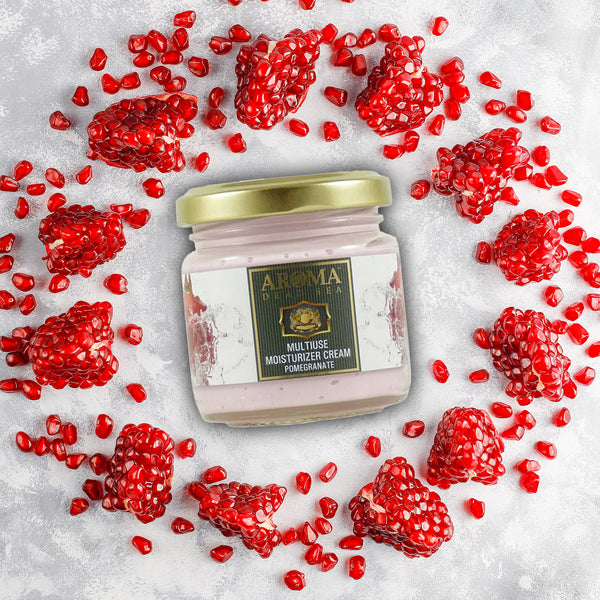 Multi-Use Moisturizer and Body Cream Pomegranate 100 ml - Aroma Dead Sea
