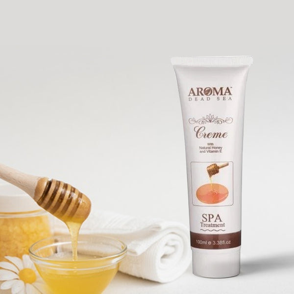 Multi-Use Honey Cream 100 ml - Aroma Dead Sea