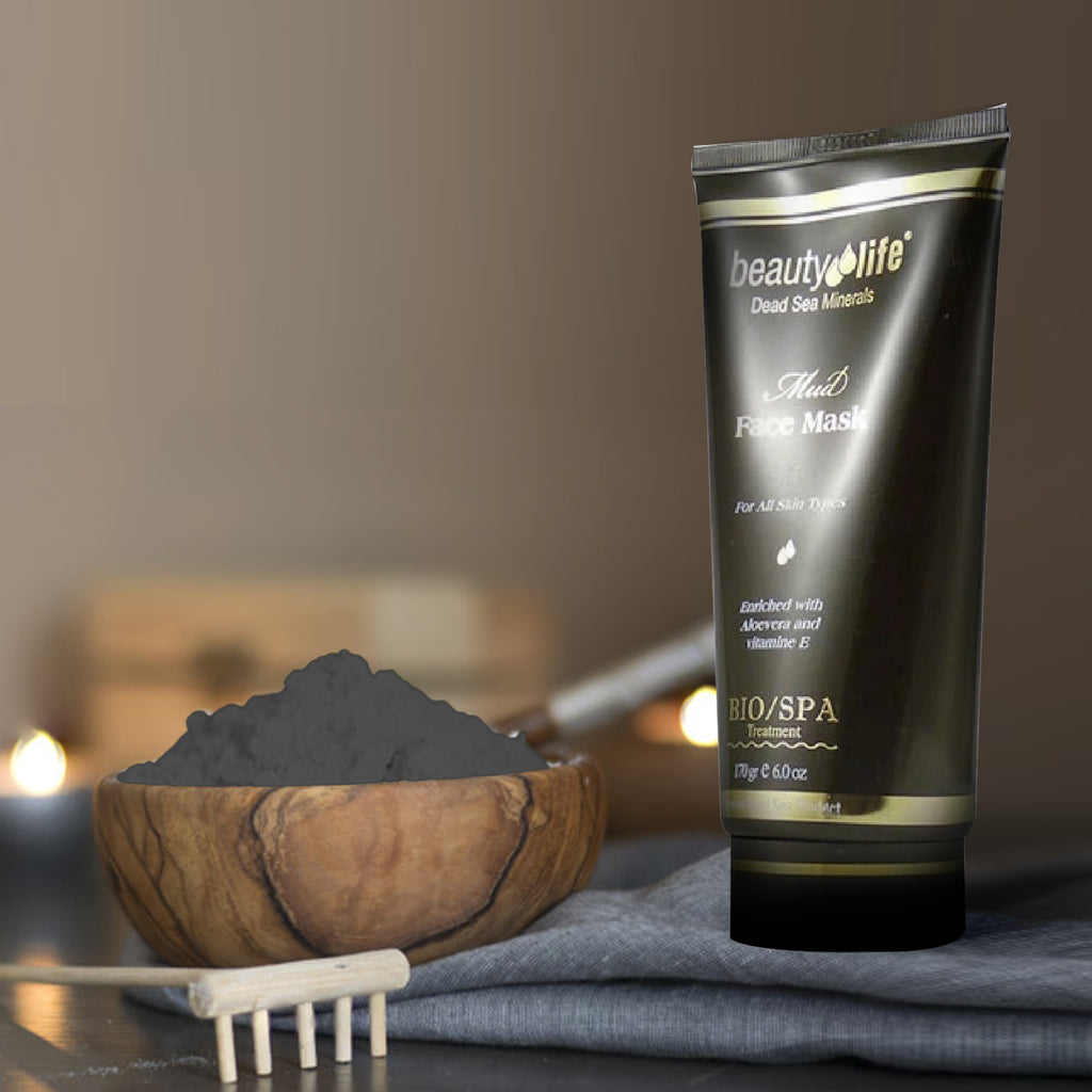 Mud Face Mask for All Skin Types - Aroma Dead Sea