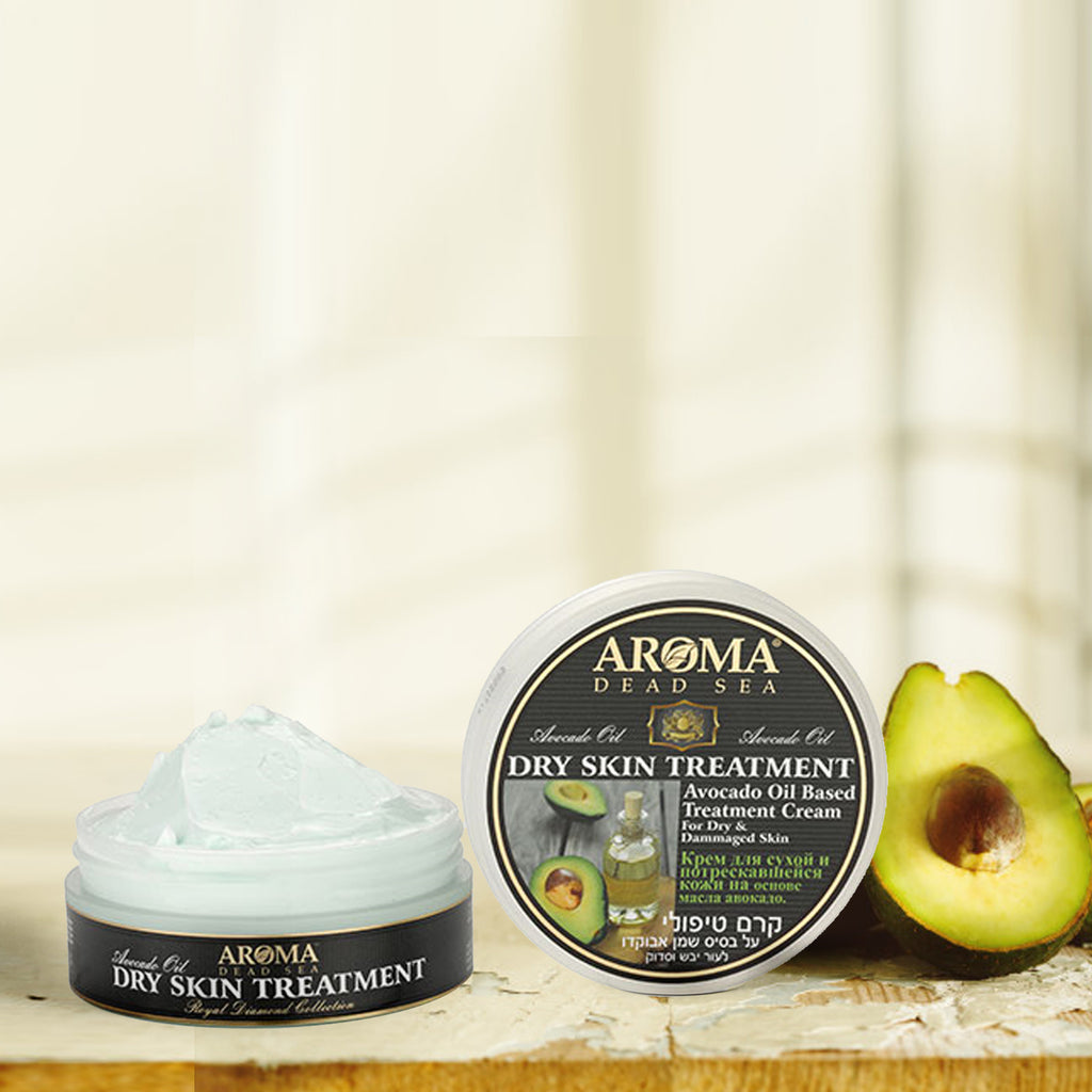 Avocado Oil Dry Skin Treatment - Aroma Dead Sea