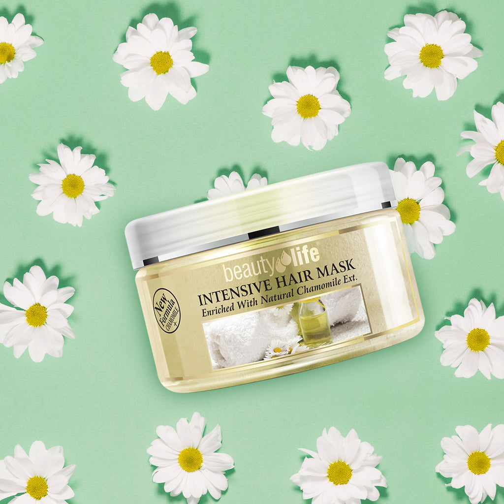 Intensive Hair Mask Chamomile 250 ml - Aroma Dead Sea
