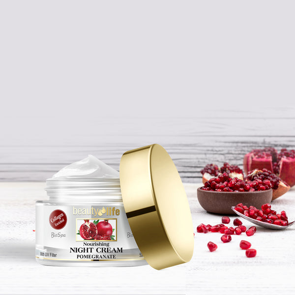 Pomegranate Nourishing Night Cream - Aroma Dead Sea