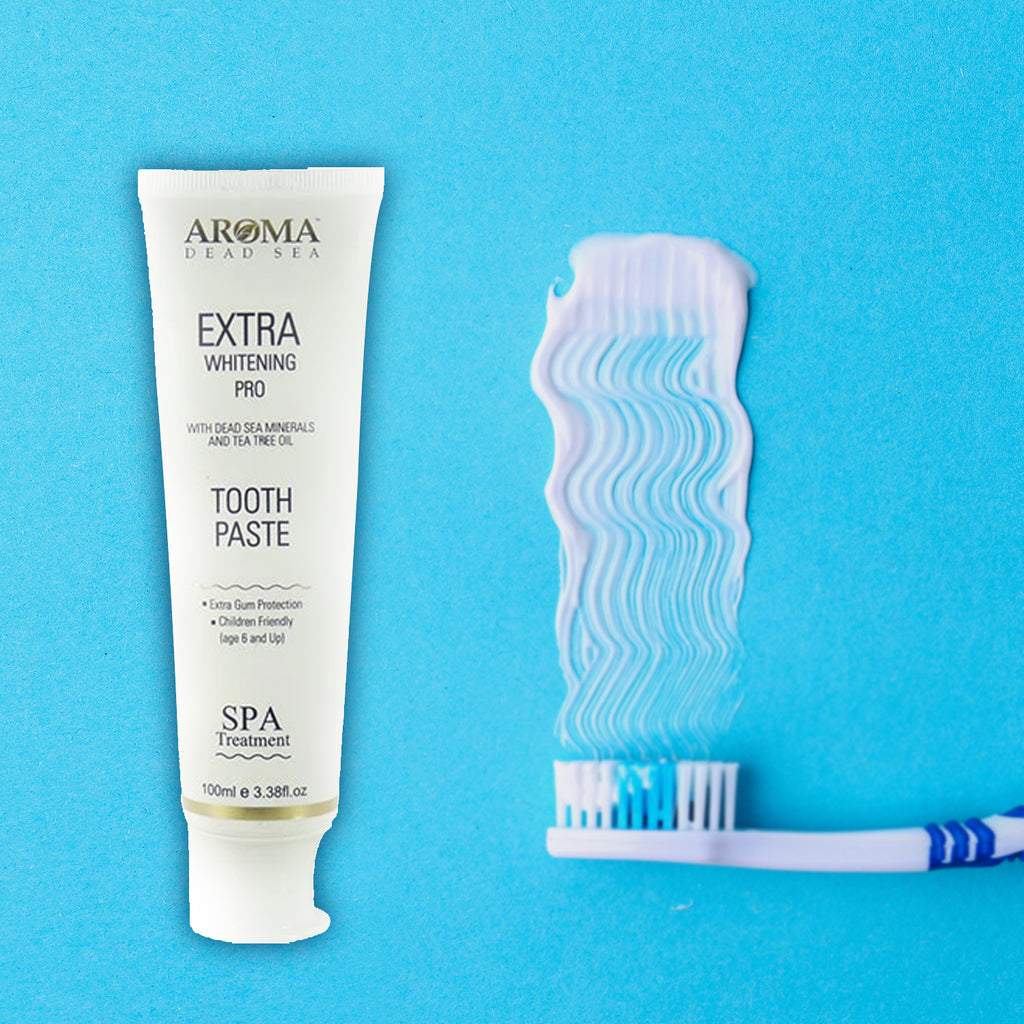 Aroma Dent Extra Whitening Pro Tooth Paste - Aroma Dead Sea