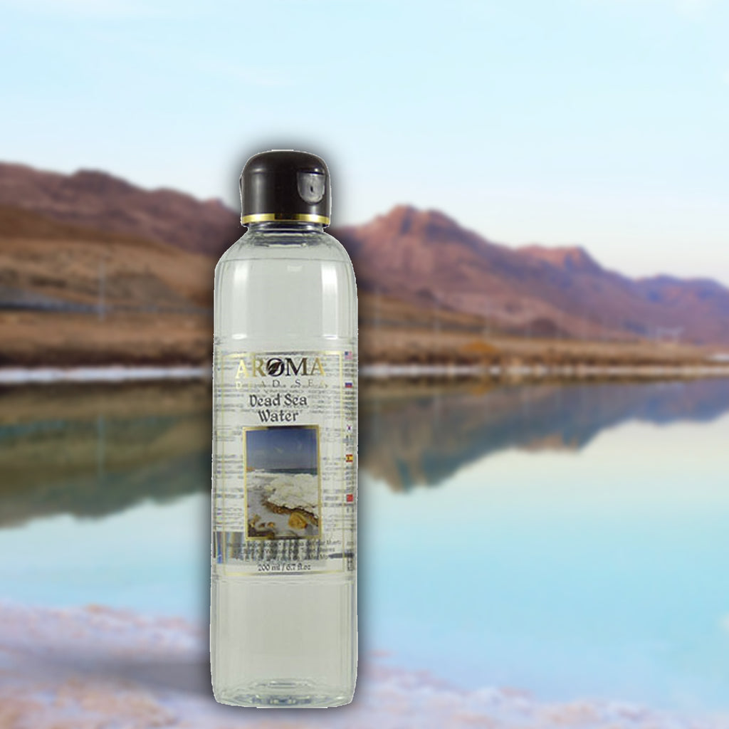 Genuine Dead Sea Water 250 ml - Aroma Dead Sea