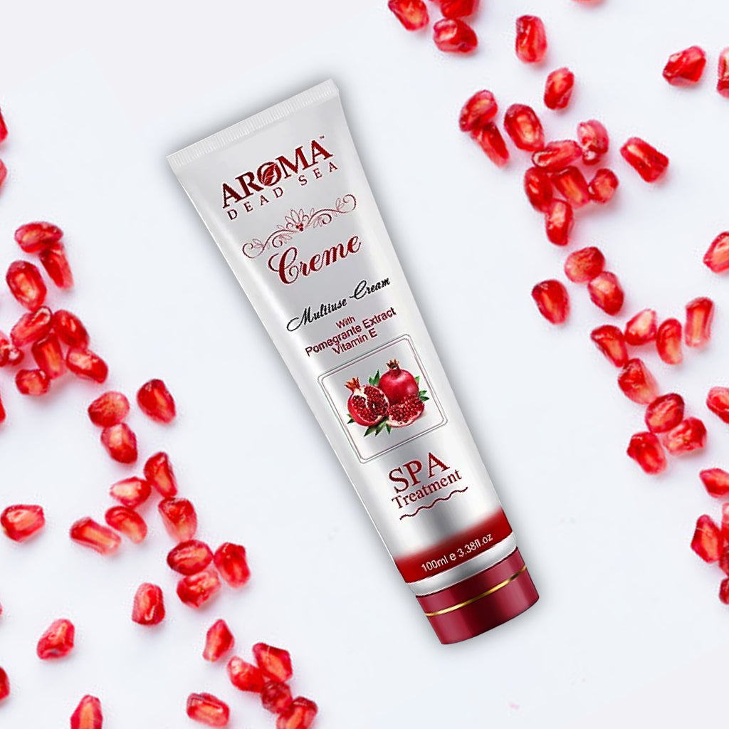 Multi-Use Pomegranate Cream 100 ml - Aroma Dead Sea