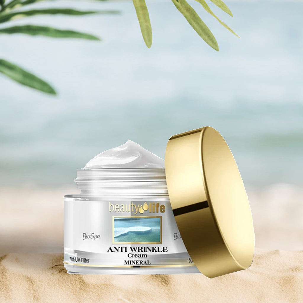 Anti Wrinkle Cream for all skin types - Aroma Dead Sea