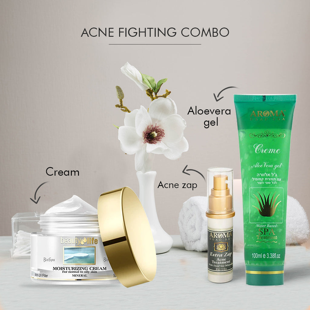 Acne fighting combo