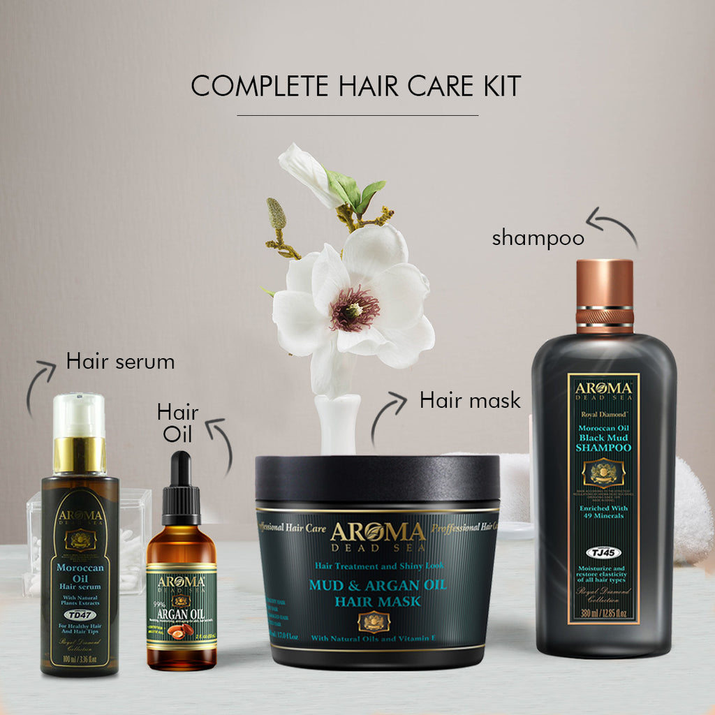 Complete Hair Care Kit Aroma Dead Sea