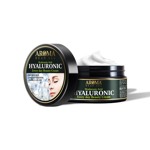 Hyaluronic Acid Beauty Cream - Aroma Dead Sea
