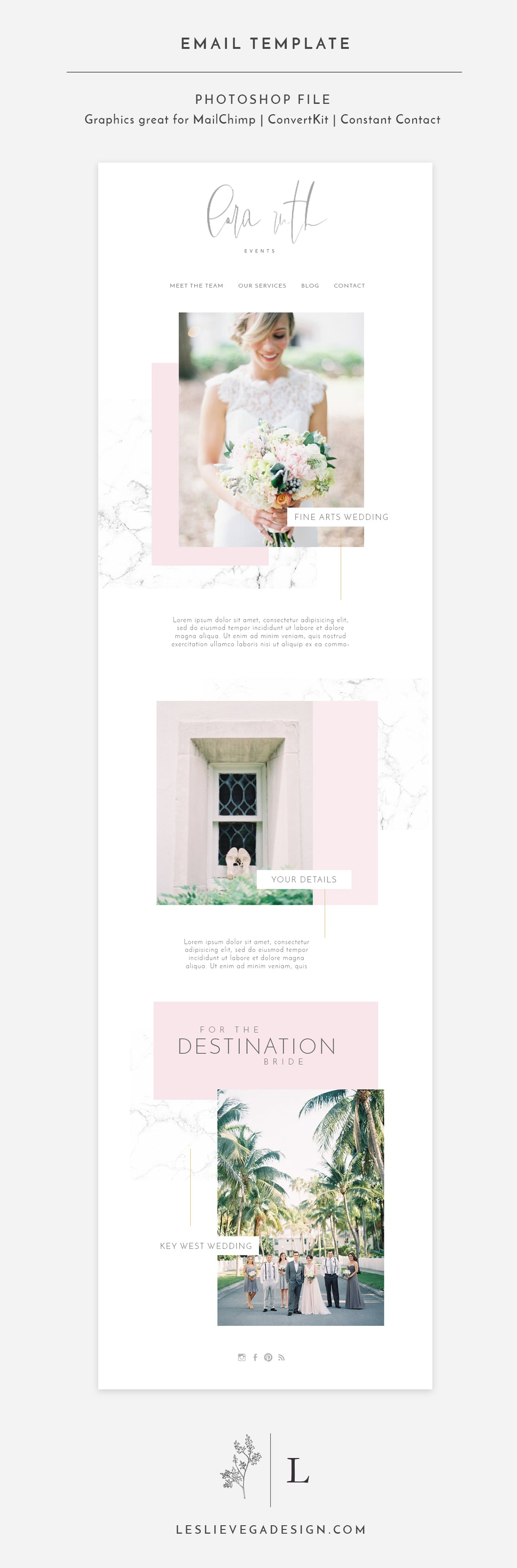 Email Newsletter Template - LARA