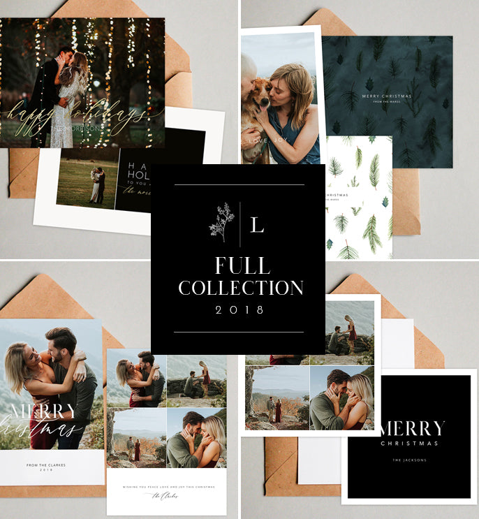 Holiday Card Templates - Full Collection