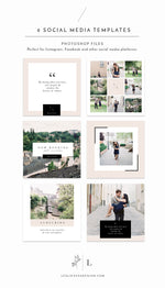 Instagram Social Media Photoshop Template - ZARA