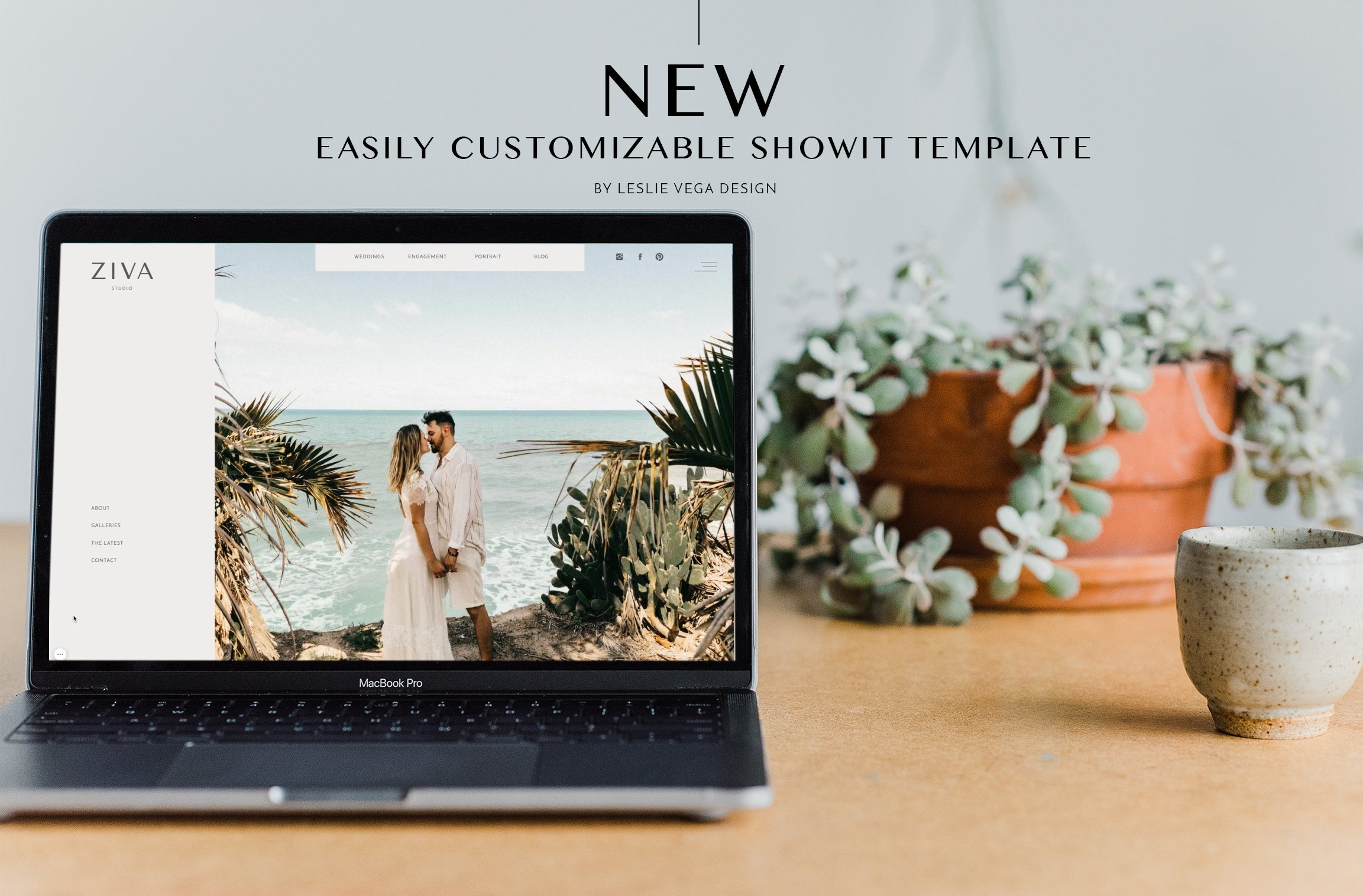 ZIVA - ShowIt Web Site Template