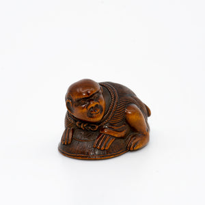 Netsuke – Rat Catcher
