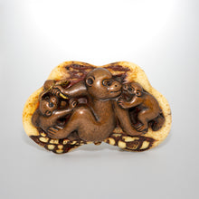 Load image into Gallery viewer, Netsuke – Three Monkeys