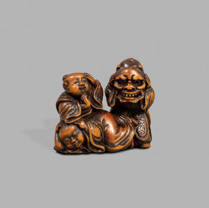 Netsuke - Children at Play