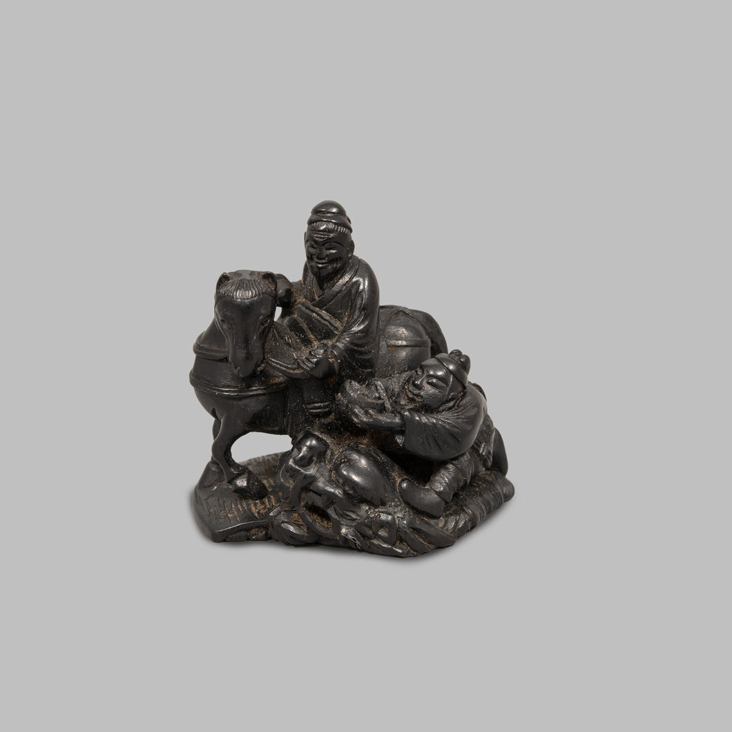 Netsuke – Choryo and Koseki