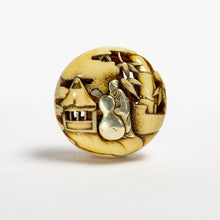 Load image into Gallery viewer, Netsuke – Chinese Sage
