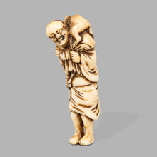 Load image into Gallery viewer, Netsuke - Saramuwashi
