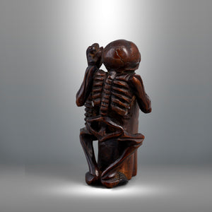 Netsuke - Save us, Merciful Buddha