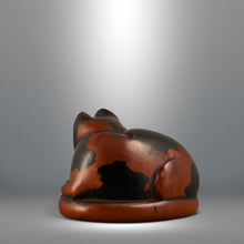 Load image into Gallery viewer, Netsuke - Cat with Kitten