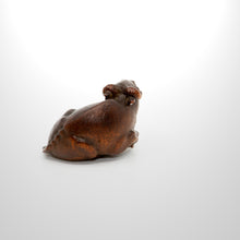 Load image into Gallery viewer, Netsuke – Recumbent Ox