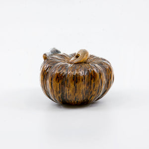 Netsuke – Pumpkin and aubergine