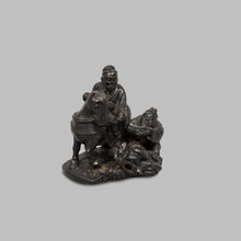 Load image into Gallery viewer, Netsuke – Choryo and Koseki