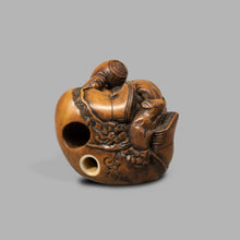 Load image into Gallery viewer, Netsuke - Carving Daikoku