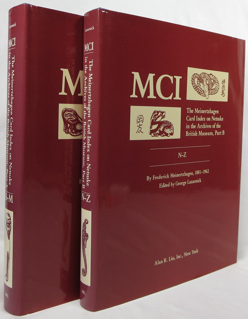 MCI, the Meinertzhagen card index (two volumes)