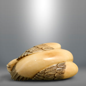 Netsuke - Bird and Chick