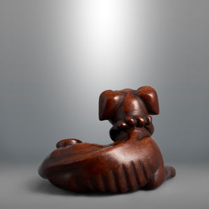 Netsuke - Seated Dog