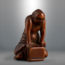 Load image into Gallery viewer, Netsuke - Blind Man