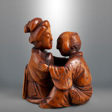 Load image into Gallery viewer, Netsuke – Shunga Couple