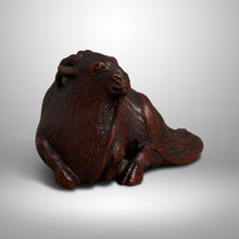 Load image into Gallery viewer, Netsuke – Masayasu Goat