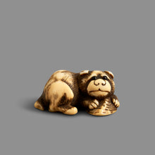 Load image into Gallery viewer, Netsuke – Puppy with Shell