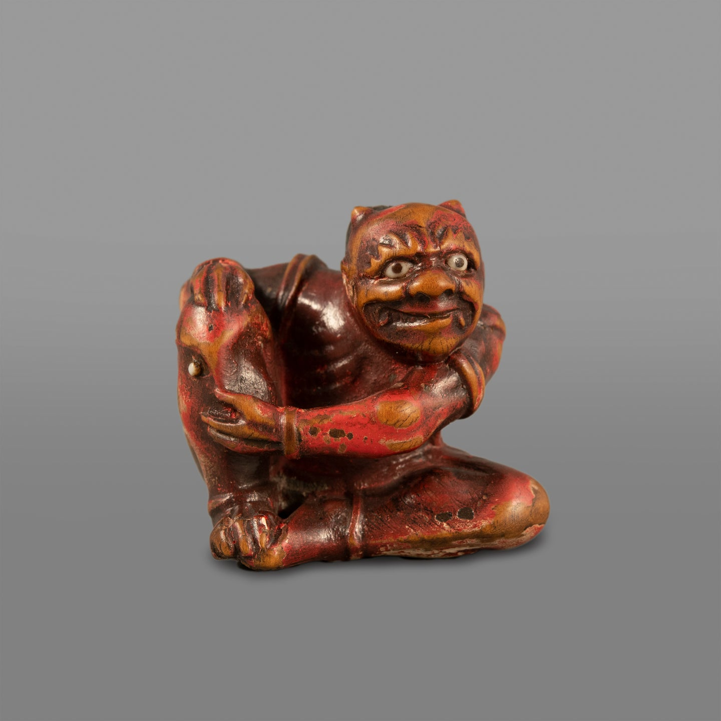 Netsuke – Oni, Moxa Remedy