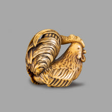 Load image into Gallery viewer, Netsuke – Cockerel