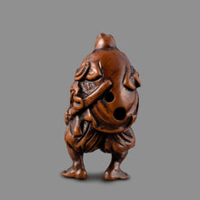 Load image into Gallery viewer, Netsuke – Omori Hikoshichi