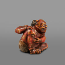 Load image into Gallery viewer, Netsuke – Oni, Moxa Remedy
