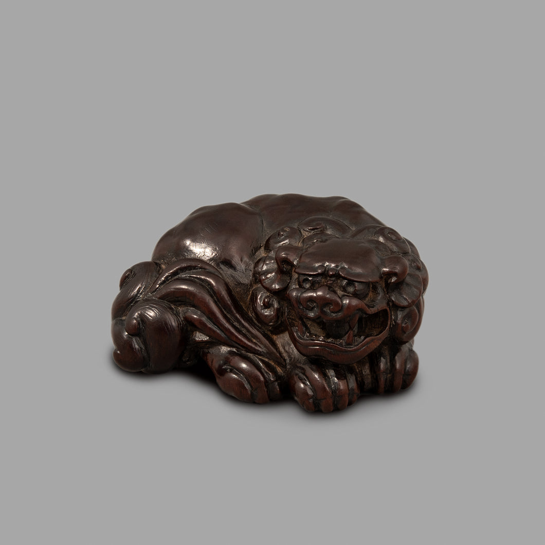 Netsuke – Seated Shishi