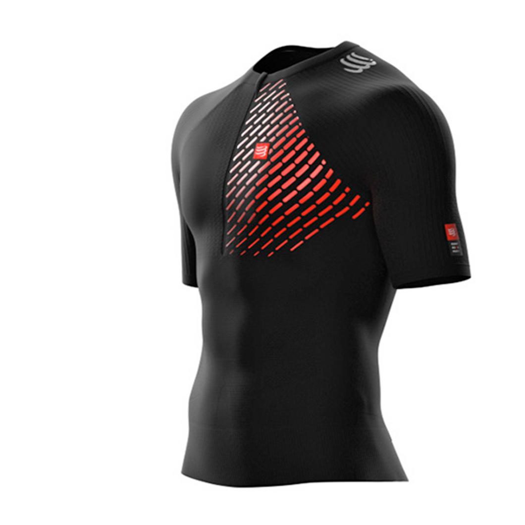 Trail Postural SS Top - L Preto