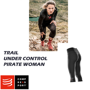 Trail Under Control Pirate 3/4 Woman - T2