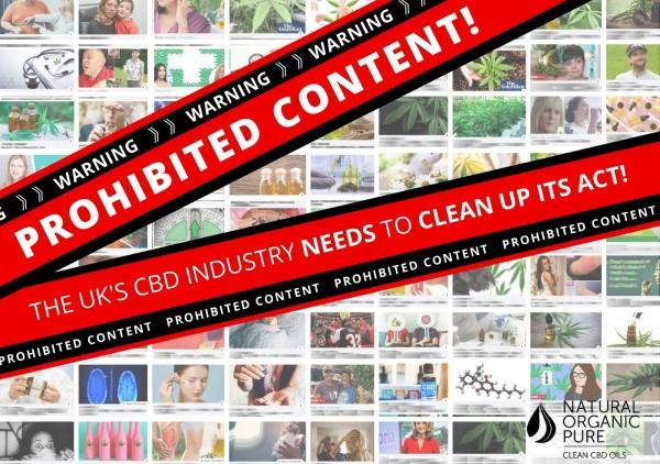cbd industry needs to clean up its act-prohibited content--nopcoils blog