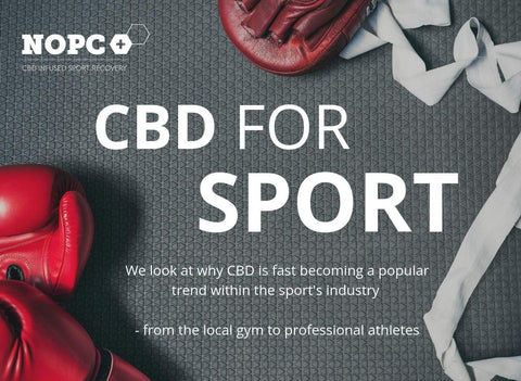 CBD for Sport why athletes are using CBD to support Recovery & Performance