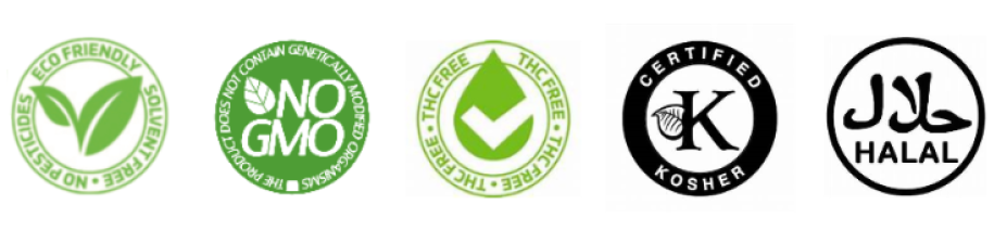 cbd oil accreditation certified badges-nopc oils