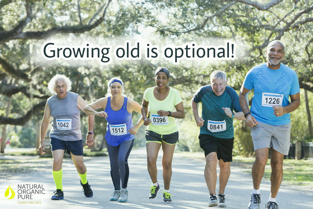 seniors jogging | cbd fitness | nopc oils